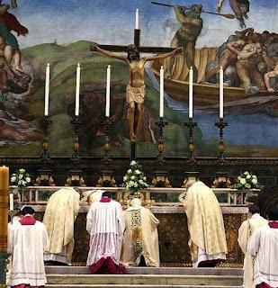 La reforma litúrgica de Benedicto