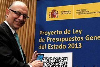 """Cristobal Montoro: """"En 2013 no necesitaremos recursos financieros del exterior"""""""