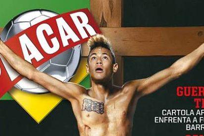 Brasil crucifica a Neymar y se monta la polémica con el 'divino' delantero