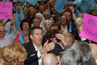 """Feijóo: """"Nosotros queremos a papá y a mamá; queremos a Galicia y a España"""""""