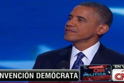 Obama acepta su nominación y busca el voto de la clase media