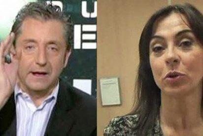 """Carme Barceló atiza a CR7 por estar triste """"a pesar de tener salud y dinero"""" y Josep Pedrerol la frena en seco: """"El debate no puede caer en ese tono demagógico"""""""