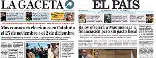 No es la final de la Champions, es el encuentro Rajoy-Mas