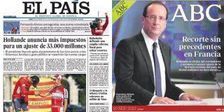 El tijeretazo de Hollande en Francia es sólo un ajuste para El País