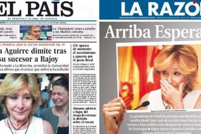Esperanza Aguirre eclipsa a Rubalcaba