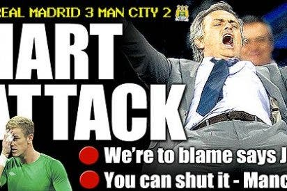 La prensa británica dice que el Manchester City acabó de rodillas ante el Real Madrid
