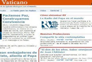 Radio Vaticano cede a las presiones y retira una noticia sobre un libro de Joan Chittister