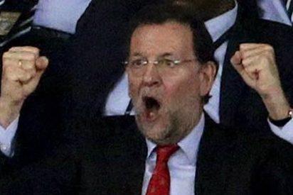 Rajoy y su equipo gastaron 1.000 € en cenar de regreso a España tras la Eurocopa