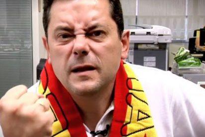 """Tomás Roncero, sobre la segunda equipación del Barcelona con los colores de la 'senyera': """"Muchos culés están hasta el gorro de sentirse excluidos. Es una camiseta solo para chinos y catalanes"""""""