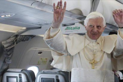 """El Papa, en el avión: """"El tráfico de armas es un pecado mortal"""""""