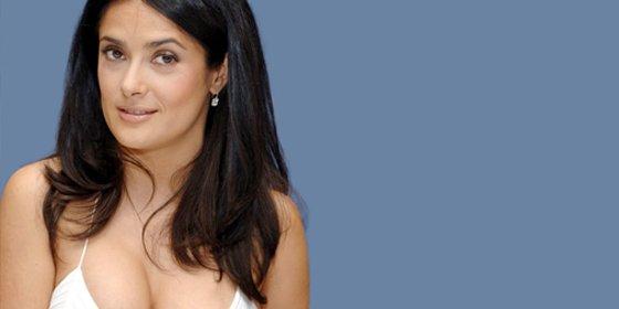 """Salma Hayek: """"Sé que soy bajita y rechoncha, pero mi marido me quiere así"""""""