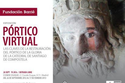 Las claves de la restauración del Pórtico de la Gloria, en Madrid