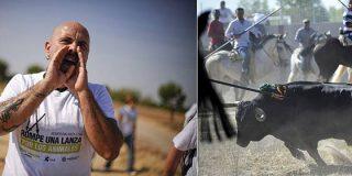 La Guardia Civil desaloja antitaurinos en el Toro de la Vega