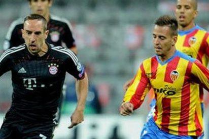 El Valencia se marcha de vacío tras caer por la mínima ante el Bayern de Múnich (2-1)
