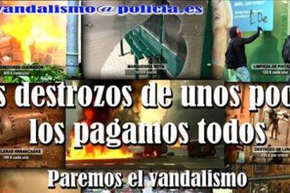 La Policía también usará las redes sociales para combatir el vandalismo