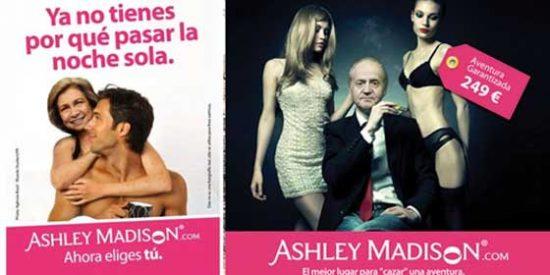 La Reina Sofía demanda a la web de adulterios 'Ashley Madison' por usar su imagen como reclamo publicitario