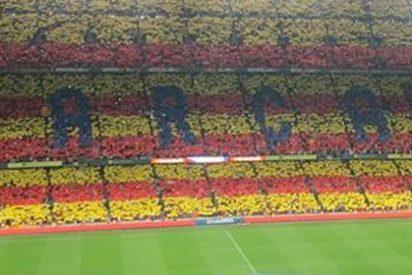 """Frederic Hermel, sobre las esteladas en el Camp Nou: """"Estas son las típicas imágenes de otros países que no tienen la suerte de ser democráticos"""""""