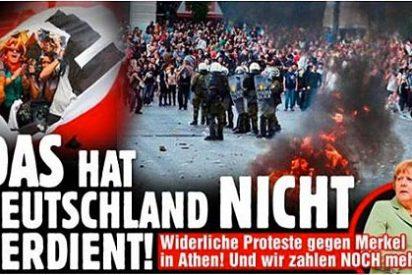 """Titular del diario germano 'Bild': """"Alemania no se merece esto"""""""