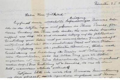 """La """"Carta sobre Dios"""" de Einstein, a subasta"""