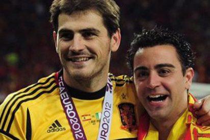 """Carlos Cuesta: """"Xavi, el que antes se daba abrazos, el de Príncipe de Asturias con Casillas, ahora dice que el Barça tiene que estar al servicio de Cataluña"""""""