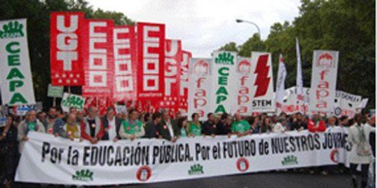 """Una madre en huelga: """"Los alumnos dejarán de ser ciudadanos librepensadores para ser mano de obra barata"""""""