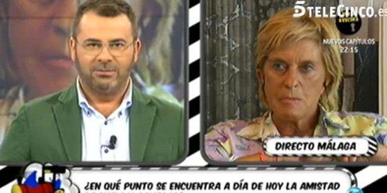 Hasta Jorge Javier Vázquez se burla y humilla a Chelo García Cortés por su increíble falta de profesionalidad en el juicio de la Pantoja