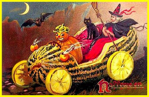Delicias del Halloween: compotado avainillado