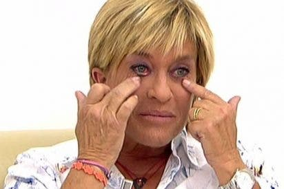 Todo un hito en 'Sálvame': Chelo García Cortés se derrumba en directo como nunca antes la habíamos visto ¿Víctima o culpable?