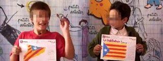Así adoctrina el nacionalismo a los niños en las escuelas de Cataluña