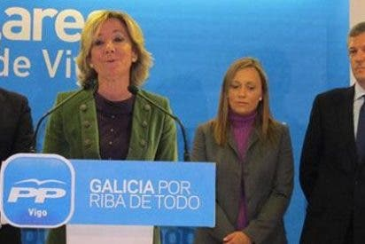 Esperanza Aguirre no descarta a Feijóo como sucesor de Rajoy