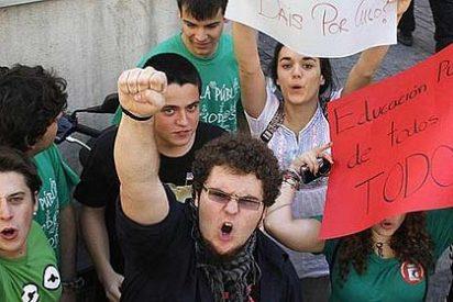 UPyD ve a los nacionalistas radicales detrás de la huelga de estudiantes 11x12
