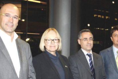"""'Eurojetas' catalanes piden a la UE que intervenga contra las """"amenazas militares a Cataluña"""""""
