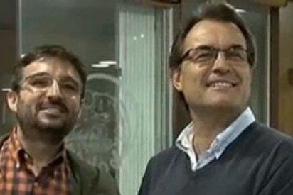 """Artur Mas: """"No creo que Rajoy y el Rey estén hablando de mi, porque, si lo hicieran, no sonreirían"""""""