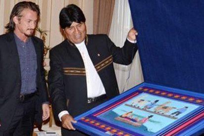 Evo Morales ficha a Sean Penn para que represente a Bolivia en su disputa territorial con Chile