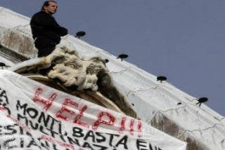 """Empresario italiano denuncia desde la cúpula de San Pedro: """"Nos estáis matando a todos"""""""