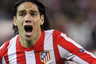 El Atlético de Madrid de Falcao echa el aliento en la nuca del Barça