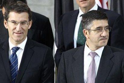 Un rey y 18 presidentes de una España hecha pedazos posan ante la Inquisición del euro