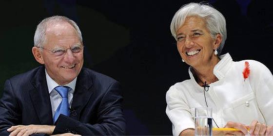 Schäuble insta a perseverar en los recortes pese a las protestas