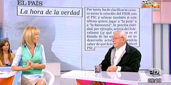 "Leguina: ""Entre la independencia de Cataluña y la Guardia Civil, hay que elegir a la Guardia Civil"""