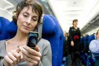 Ya se puede viajar en avión y hablar por teléfono móvil en pleno vuelo