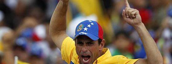 Henrique Capriles y la oposición al 'Gorila' Hugo Chávez toman Caracas