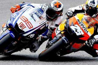 Lorenzo logra el mundial de Moto GP al caerse Pedrosa en Australia
