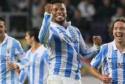 El Málaga prolonga su estado de gracia y golea al Anderlecht (0-3)