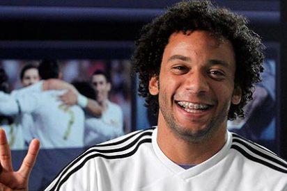 Marcelo se ha roto el pie derecho y permanecerá tres meses de baja