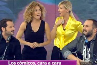 """La vergonzosa venganza de Anne Igartiburu y los suyos contra Ángel Martín ('SLQH') en directo: """"¿No te arrepientes de habernos insultado?"""""""