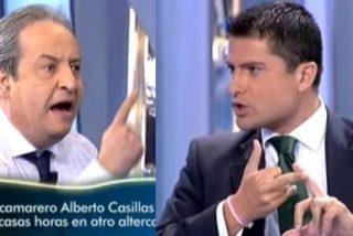 """El héroe-camarero del 25-S, contra Alfonso Merlos: """"¡Esta policía es peor que la de Franco!"""""""