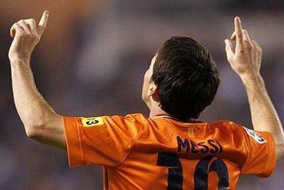 Messi, con un 'hat-trick', salva al Barça de la furia del Dépor en un partido loco