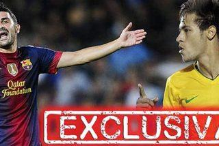 David Villa no está cómodo con su situación y se ve fuera del Barça