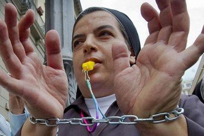 Las monjas italianas protestan contra los recortes