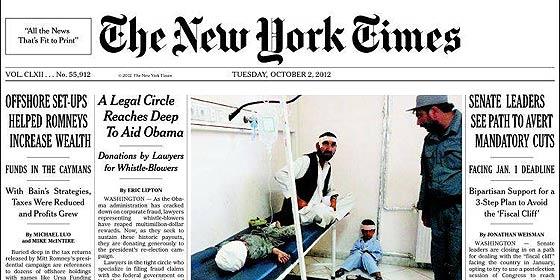 Cuando hasta las barbas de 'The New York Times' veas mojar...